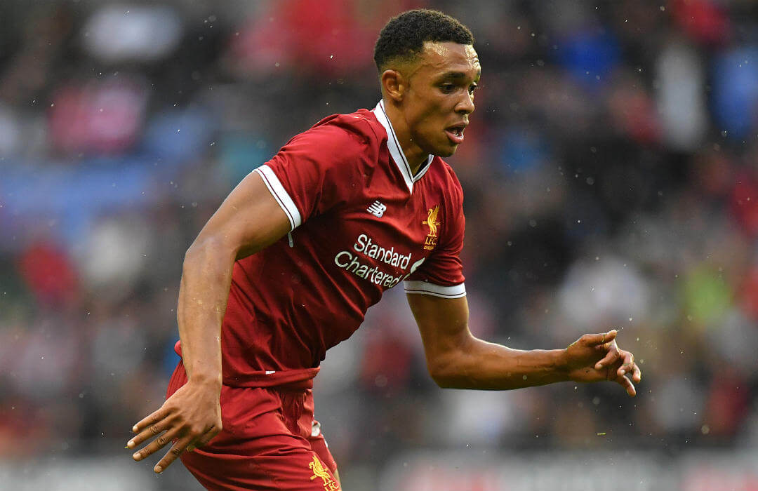RAY OF LIGHT: Reds academy grad Alexander-Arnold displays top potential in UCL debut