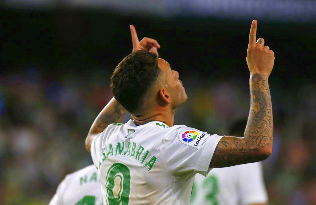 Young striker Sanabria making waves for Real Betis in the La Liga
