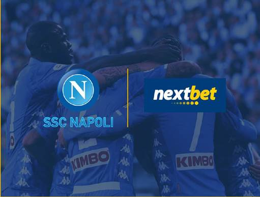 Nextbet Becomes the First SSC Napoli Regional Partner in Asia